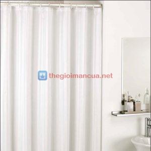 Màn phòng tắm màu trắng Thái Lan
