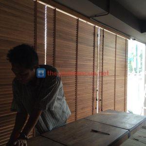 Rèm gỗ tự nhiên cao cấp Vietcis