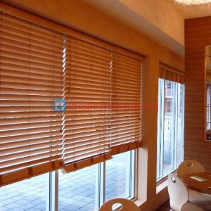 Rèm gỗ văn phòng chống nắng