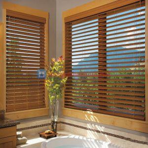 Rèm gỗ phòng tắm chống nước