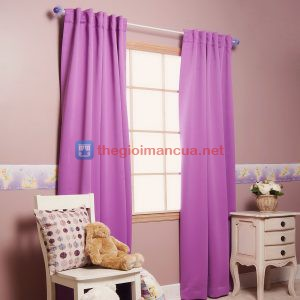 Rèm vải cửa sổ đơn giản trang nhã giá rẻ