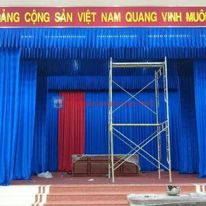 Phông sân khấu hội trường