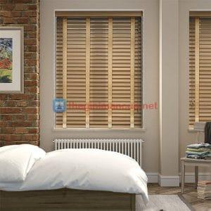 Rèm sáo gỗ tự nhiên phòng ngủ
